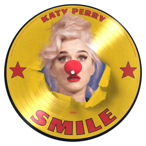 √Smile (Ltd. Picture Disc LP + Signed Art Card) von Katy Perry -  jetzt im Katy Perry Shop