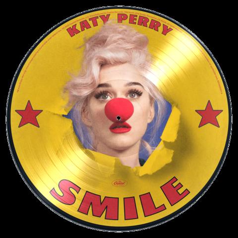 √Smile (Ltd. Picture Disc Vinyl) von Katy Perry - LP jetzt im Katy Perry Shop